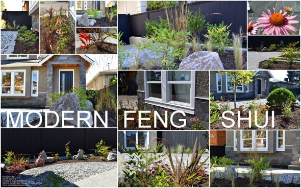 Modern feng shui easton landscape design for Modern feng shui