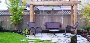 Custom Metal Hardware Garden Swing