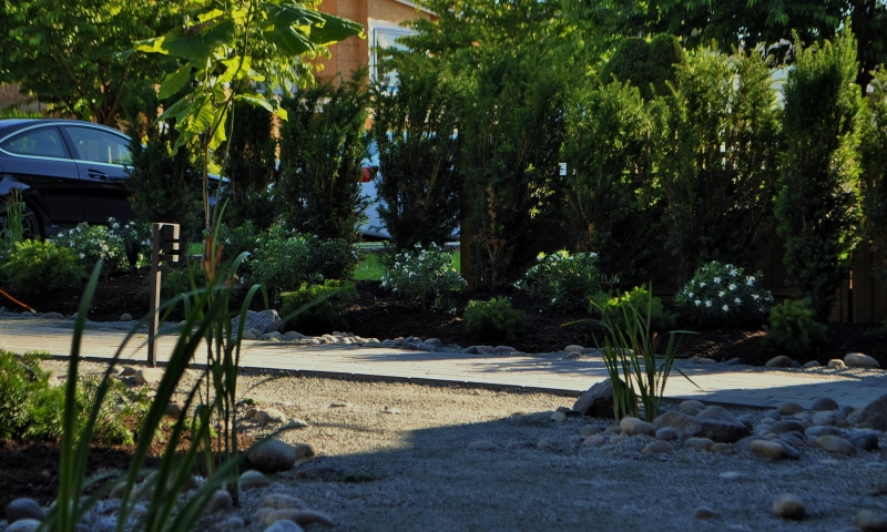 california asian inspired landscaping