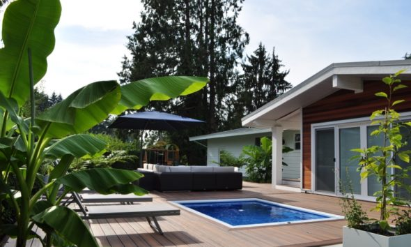 Hawaiian Retreat Landscape Design Maple Ridge, bc