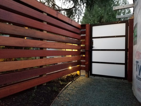 Side Security Gate Metal Fabrication