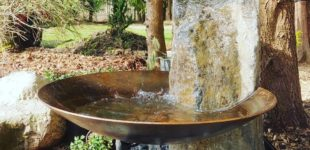 Corten Steel Water Feature Custom FabricationBowl
